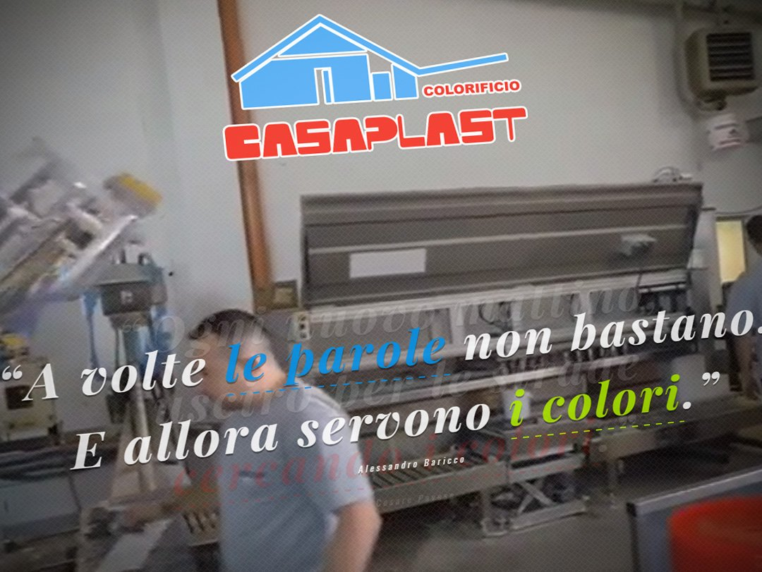 Il sito web di Casaplast, colorificio di Bergamo