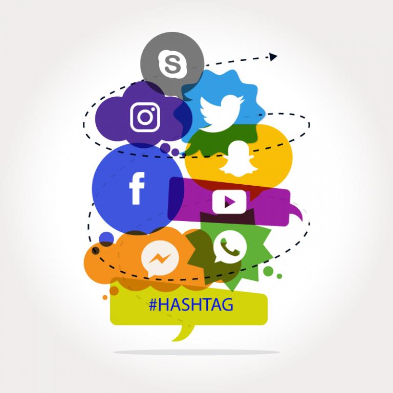 come usare gli hashtag su Facebook, Twittere e gli altri social media