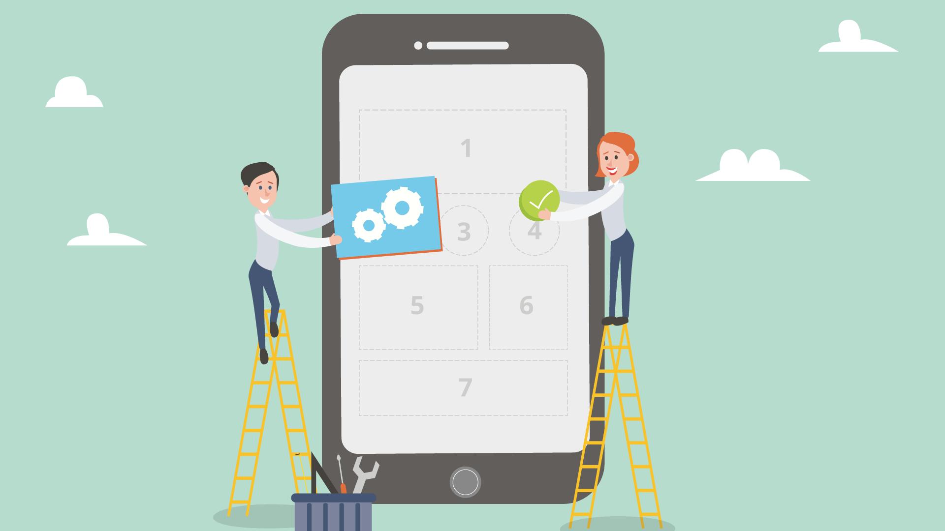 Sito web per mobile
