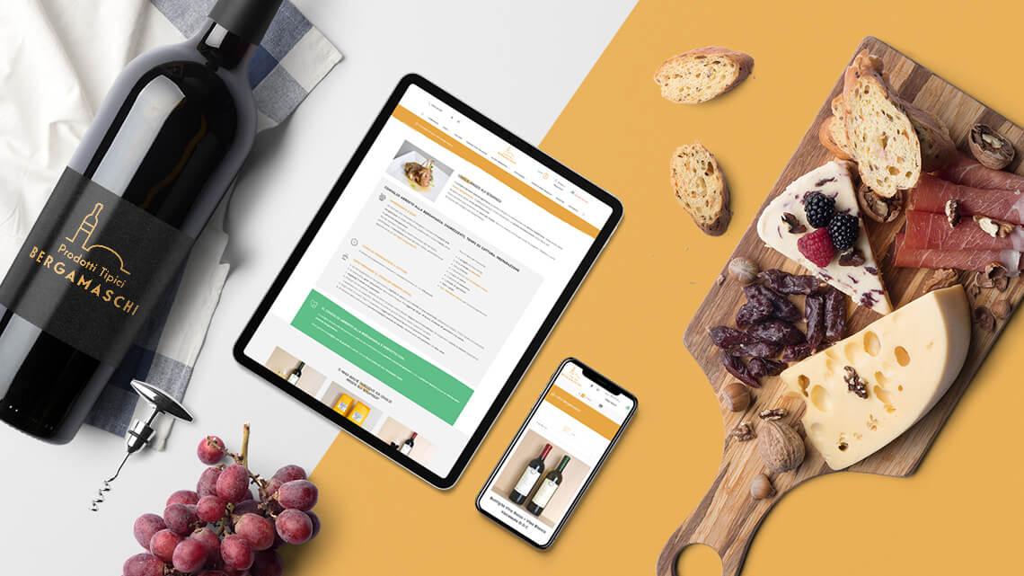 Realizzazione sito e-commerce - Prodotti Tipici Bergamaschi