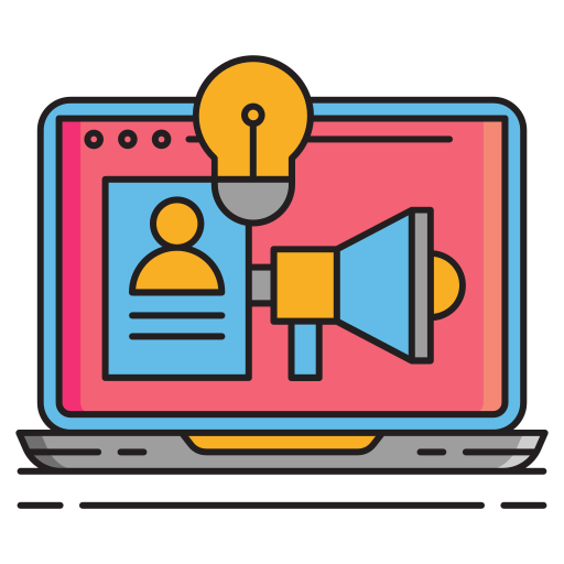 icona web marketing come funziona